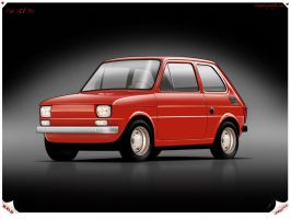Fiat 126 Bis by Wrofee