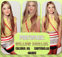 Photopack png 006. Willow Shields by Manuuselena