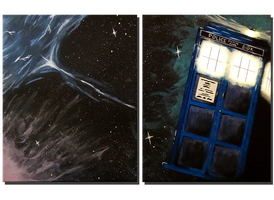 Time And Relative Dimension In Space by VD-INK