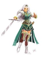 lucia valkyrie profile by kikicianjur