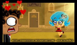 manny y frida de traje by friditititaa
