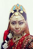 Queen Draupadi by seawaterwitch