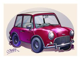 austin mini cooper by wagnerf