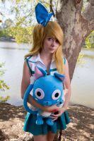 lucy Heartfilia fairy tail by hexgirl6