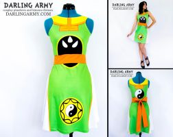 Cardcaptor Sakura Syaoran Li Printed Cosplay Dress by DarlingArmy