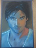 Damon Salvatore (Ian Somerhalder) by Trucina