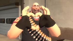 valentine fortress 2014: heavy (Red) by qatarz