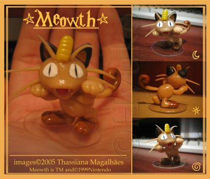 Meowth model by thassy