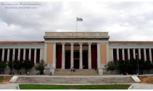 National Archaeological Museum by Kevrekidis