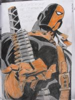 Deathstroke the Terminator by Korzonek-art
