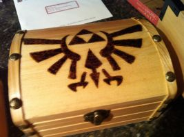 Legend of Zelda wood burning by bonniea423