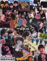 Beatles Collage by danerrrjuice