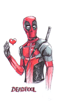 Deadpool by nightwish77