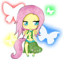 MLP Chibi: Fluttershy by Sumima