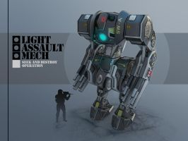Assault Mech by AlexeyVector