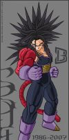 Trunks SSJ4 V2 by 3DU86