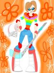 Inside Out Bots - Riley by ImaginationDiva