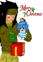 Gajeel christams feels xD by piranha-pk