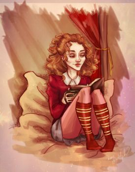 Bookworm by MissFreakyLuce