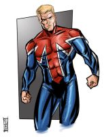 Captain Britain by Supajoe