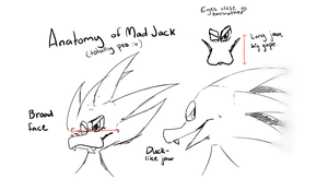 Anatomy of Mad Jack by Filthyshadow