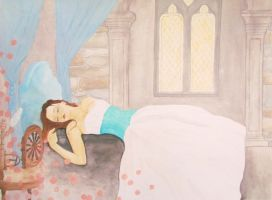 sleeping beauty by Wookie92
