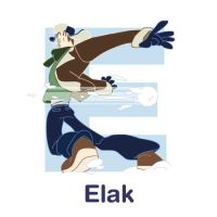 ABCDraw: E is for Elak by adifitri
