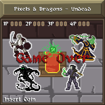 Pixels and Dragons - Undead by Dsurion