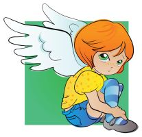 Little angel vector by jkBunny