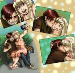 Russia and Serbia selfies by Demona-Silverwing