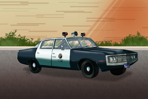 Adam-12- Patrol Car by TrishaBeakens