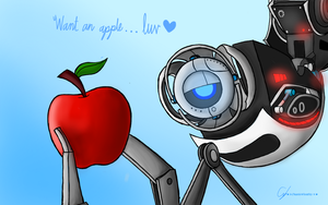 Want an apple, luv? by ChassisWheatley