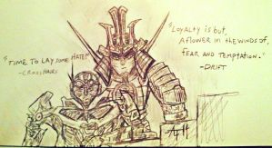 crosshairrs and drift with quotes...:) by cybertronianwarlegnd