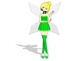 MMD TINKERBELL THE AMAZING by gothicjinx101