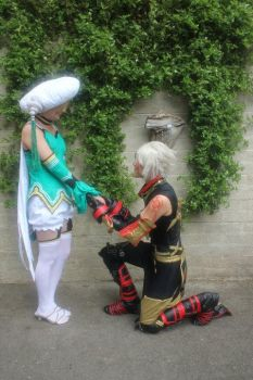 Atoli and Haseo by Miss-Makira