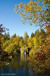 Plitvice lakes autumn by ivancoric
