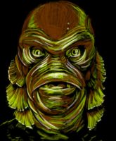Creature From The Black Lagoon by chrismoet