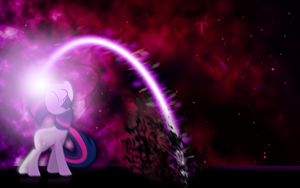 Twilight Sparkle's 'Harm'ony Flare by dadio46