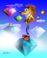 Crash In The Sky With Diamond by altergromit
