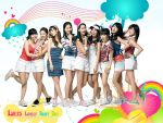 SNSD: Lovely Rainy Day by Lhezs