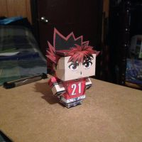 Sena Kobayakawa CubeeCraft by SuperVegeta71290