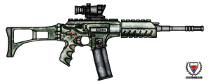 Fictional Firearm: HC-N3A1 Assault Rifle by CzechBiohazard