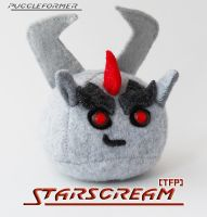 Puggleformer - TFP Starscream by callykarishokka
