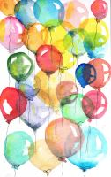balloons by bemain