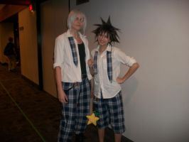 Riku and Sora - ConBravo Cosplay by SelenaEde