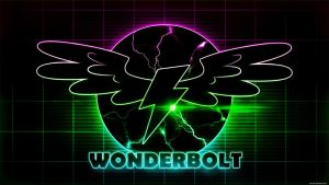 Wallpaper - Neon Wonderbolt by romus91