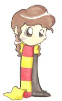 HP Watercolors- Hermione by gryffindor-girl