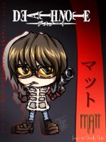 MATT of Death Note by cosu