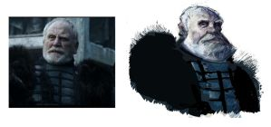 Jeor Mormont of the Nightwatch by TOBY71