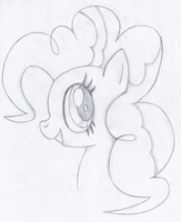 -sketch- Pinkie Pie by Ardas91